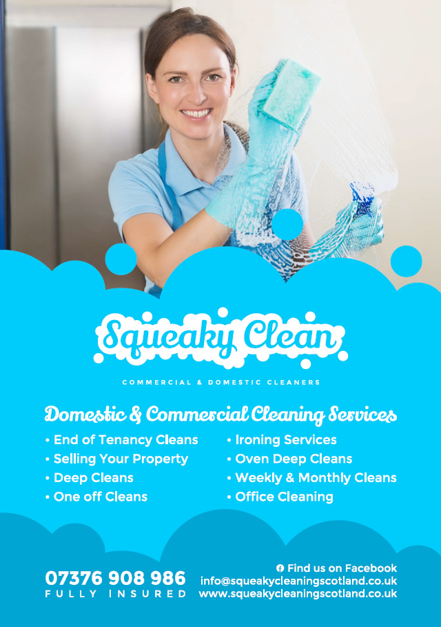 Squeaky Clean - Domestic and Commercial Cleaners